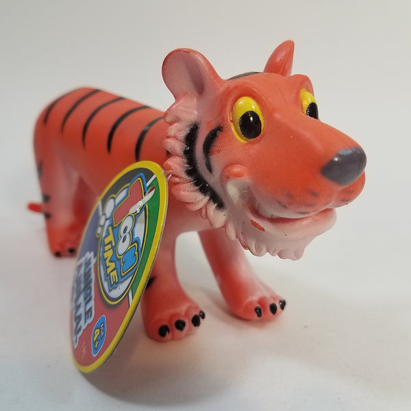 "Toon Time Jungle Animal Crafty Tiger Soft Plastic 6"" Figure"