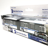 Daron NYC MTA Articulated Hybrid Bus Replica 1/90 HO Scale Model