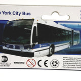 DARON NEW YORK CITY NYC MTA ARTICULATED HYBRID BUS REPLICA 1/90 HO SCALE MODEL