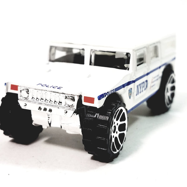 DARON New York City NYPD Police H1 Hummer 1/64 S Scale NYC Diecast SUV