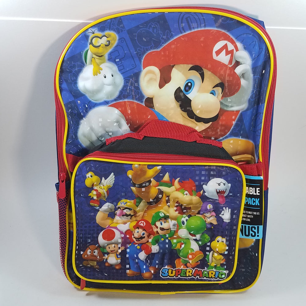 New Super Mario Bros Blue Large 16