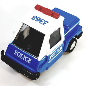 SF Toys Blue & White 1993 Cushman Utility PoliceTicket Patrol 1/34 Scale Unmarked New York Colors
