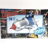 Aoshima Gerry Anderson Mini Thunderbirds Thunderbird 1 Spaceship Model Kit #8355