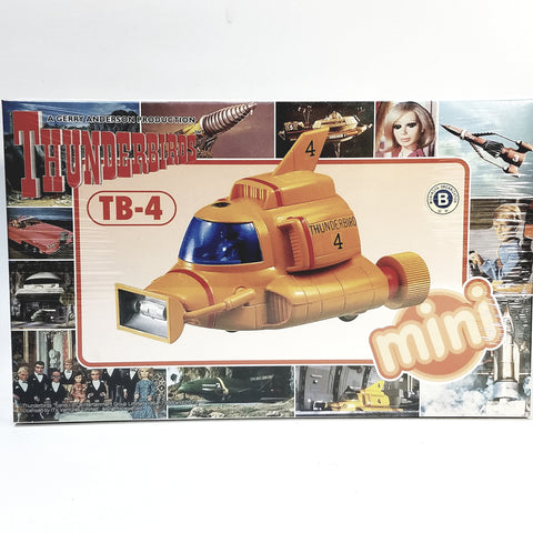 Aoshima Gerry Anderson Mini Thunderbirds Thunderbird 4 Spaceship Model Kit #8365