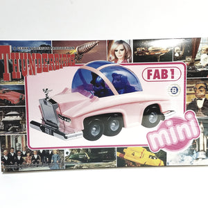 Aoshima Gerry Anderson Mini Thunderbirds FAB-1 Pink Car Model 8365