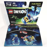 Lego Movie Dimensions Benny & Bennys Spaceship 3 in 1 Build Kit Over 45 Pieces Fun Pack