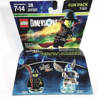 Lego Dimensions THE WICKED WITCH Of The West & Winged Monkey  (The Wizard Of Oz ) Fun Pack