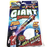 "Blue Sky METEOR GIANT Rocket 41"" Inflatable/Reusable Flying Toy"