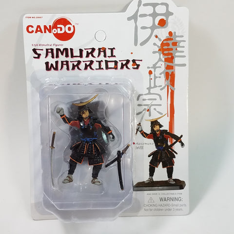 Can.Do/Dragon Samauri Warriors MASAMUNE DATE 1/24 Scale Model Kit Figure
