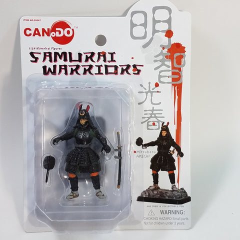 Can.Do/Dragon Samauri Warriors MITSUHARU AKECHI 1/24 Scale Model Kit Figure
