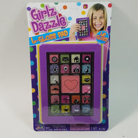 Girlz Dazzle L-Gloss Tablet 21 Piece Lip Gloss Set With Mirror In Phone Case