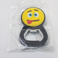 EMOJI Bottle Opener/Refridgerator Magnet Silly Face Tongue Out