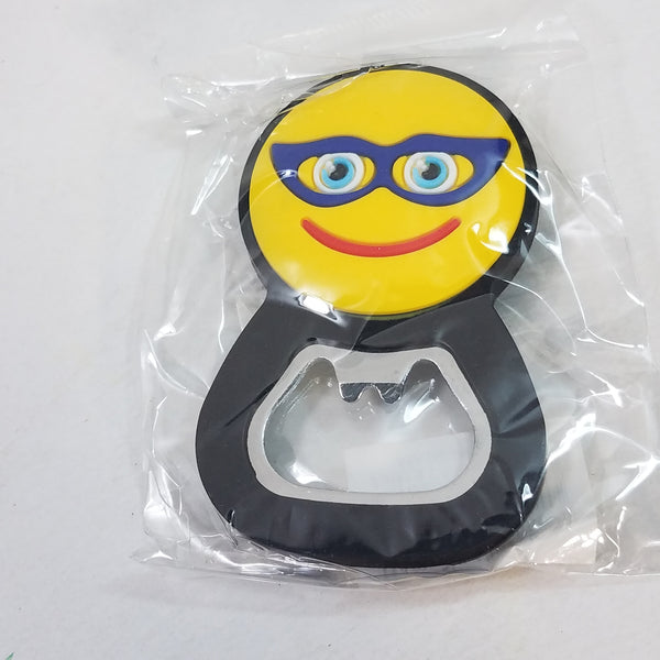 EMOJI Bottle Opener/Refridgerator Magnet Glasses Smiley Face