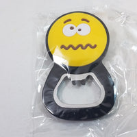 EMOJI Bottle Opener/Refridgerator Magnet Scared Confused Face