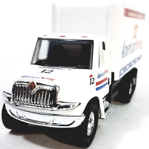 Showcasts International White American MovingBox Delivery Truck 1/48 Scale Co...