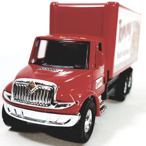 Showcasts International Red Tommy Pizza Box Delivery Truck 1/48 Scale