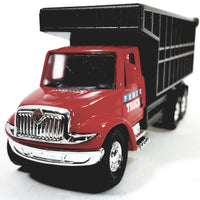 "Showcasts International Large Red Dump Truck 5"" Commercial Diecast"