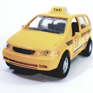 SF Toys New York City Yellow Mini-Van NYC CT-88 Transport Taxi Cab 1/43 O Scale