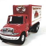 Showcasts International Red Busted Knuckle Garage Box Truck 1/48 Scale Diecast