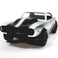 Jada Fast & The Furious Roman's Silver Chevy Camaro w/Black Stripes 1/32 Scal...