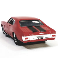 Jada Fast & The Furious Dom's Cherry Red Chevy Chevelle w/Black Stripes 1/32 ...