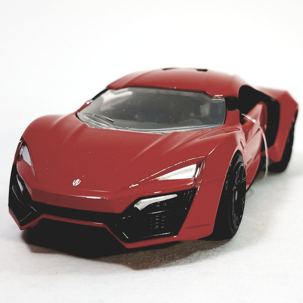 Jada Fast & The Furious Fire Red Lykan Hypersport 1/32 Scale Diecast Car