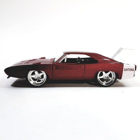 Jada Bigtime Muscle Red 1969 Dodge Daytona Charger 1/32 Scale Diecast Car