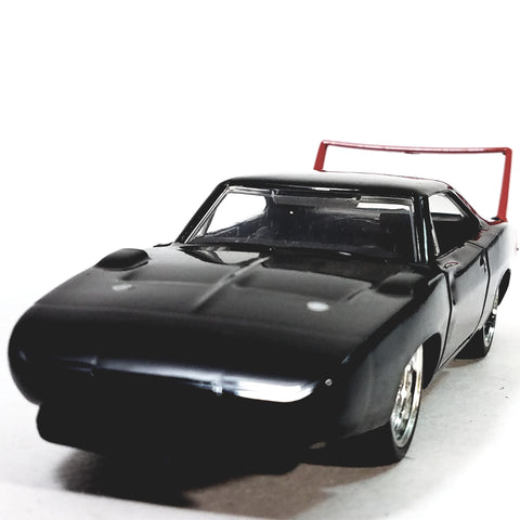 Jada Bigtime Muscle Black 1969 Dodge Daytona Charger 1/32 Scale Diecast Car