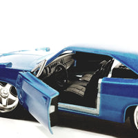 Jada Bigtime Muscle Blue 1969 Dodge Daytona Charger 1/32 Scale Diecast Car