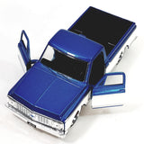 Jada Just Trucks Blue 1972 Chevy Cheyenne Pickup Truck  1/32 Scale Diecast