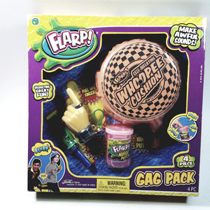 FLARP 4 Piece Gag Pack Whoopee Cushion,Noise Putty,Pull My Finger,Noise Razzer