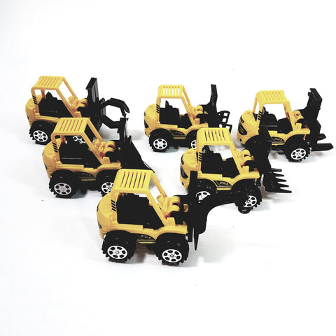 "Construction Scraper 6 Piece Mini 1"" Plastic Commercial Set With Moving Blades"