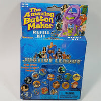 NSI The  Amazing Buttonmaker Refill Justice League Edition