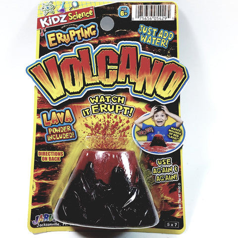 Kidz Science Erupting Volcano Kids Science Project Kit