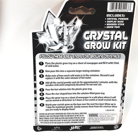 Kidz Science Crystal Grow Kit Kids Science Project Kit