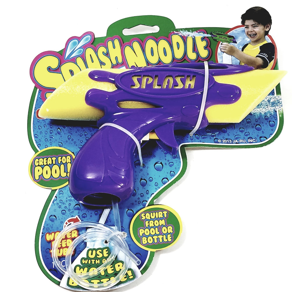 SPLASH Noodle Fun Foam Squirt Foam Encased Water Blaster/Gun Pool/Bath Tub Toy
