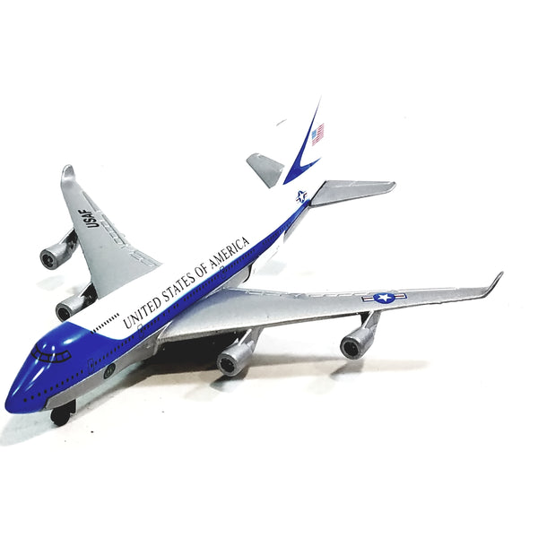 Showcasts Boeing 747 Air Force Presidential Aircraft 1/100 Scale Diecast Plane