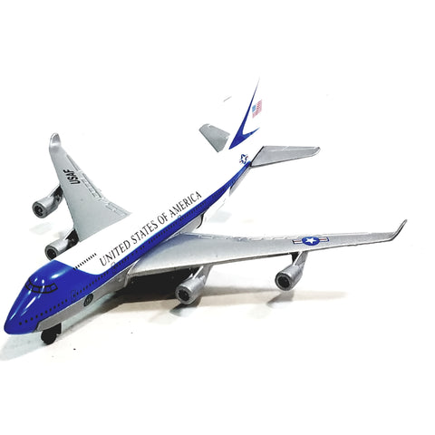 Showcasts Collectibles Boeing 747 Air Force Flyiing Oval Office Presidential Aircraft 1/100 Scale Diecast Plane