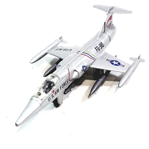 Showcast Lockheed Martin F-104  Starfighter USAF Fighter Aircraft 1/100 Scale Diecast Plane