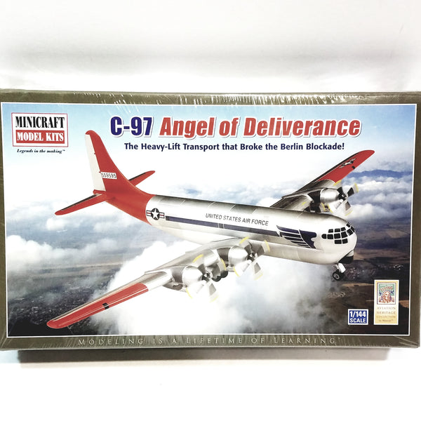 Minicraft Boeing C-97 Angel Of Deliverance STRATOFREIGHTER USAF 1/144 Scale Model Airplane Kit