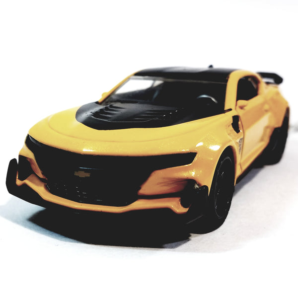 Jada Transfomers Yellow & Black 2016 Chevy Camaro Bumblebee 1/3 Scale Diecst Truck