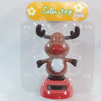Solar Dancer Reindeer Chrismas Dancer Solar/Light Activated Swinging Xmas Hips