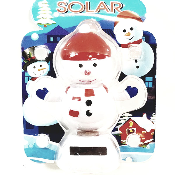 Solar Dancer Snowman Chrismas Dancer Solar/Light Activated Swinging Xmas Hips
