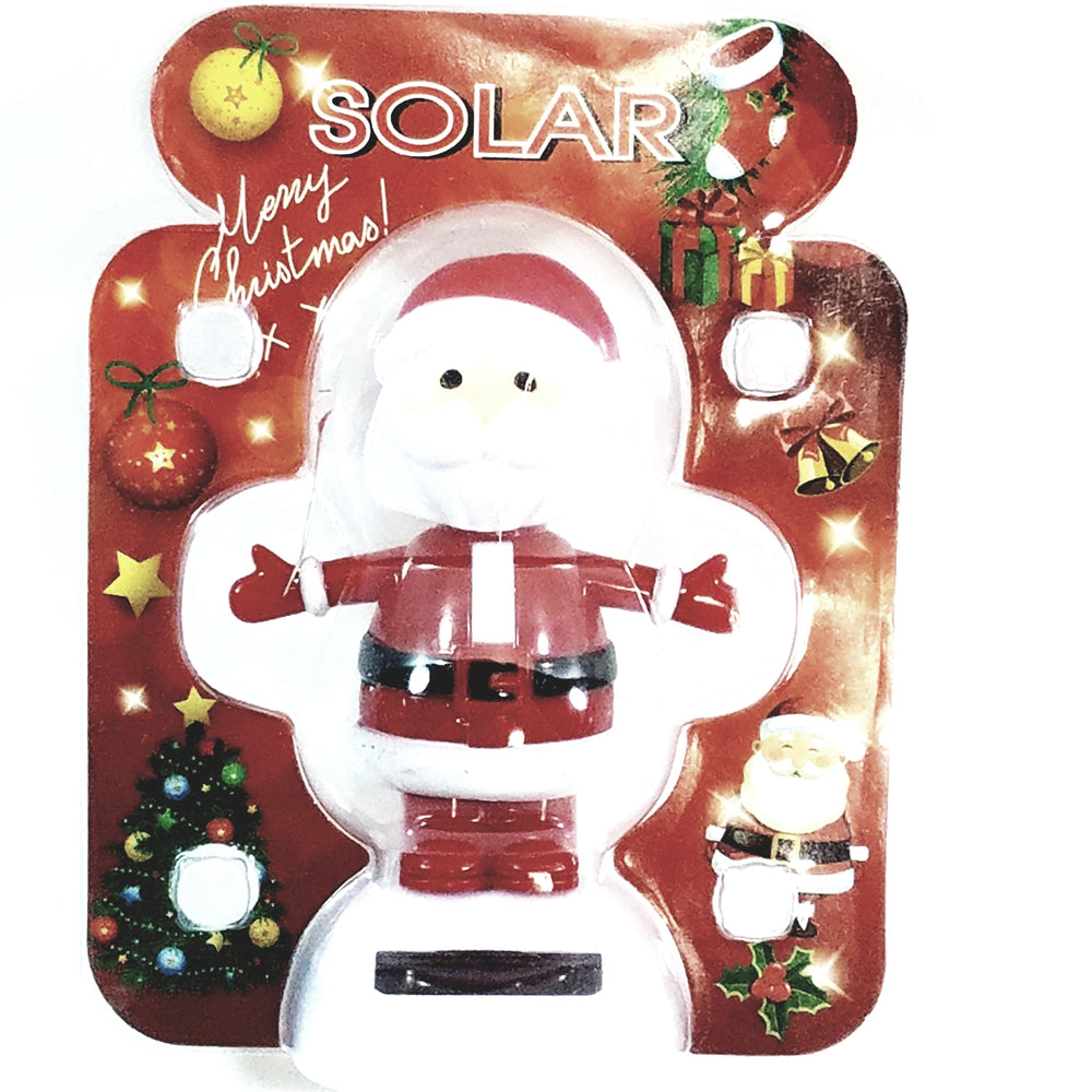 Solar Dancer Santa Claus Chrismas Dancer Solar/Light Activated Swinging Xmas Hips