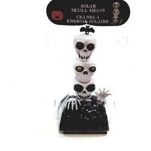 Solar Halloween Dancer Skeletons Grave Solar/Light Activated Moving Eyes
