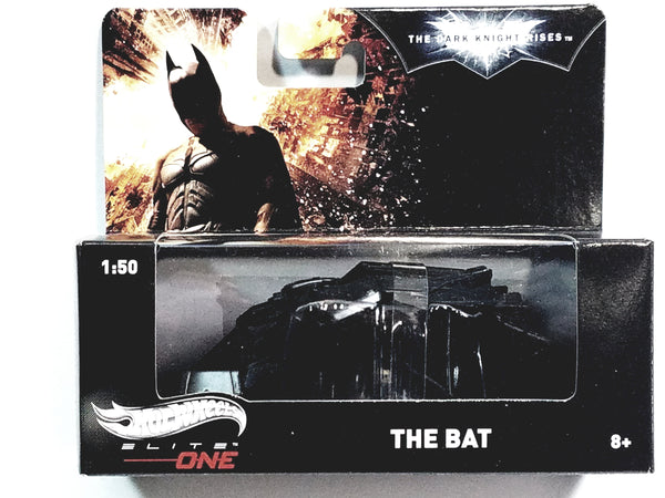 Hot Wheels Elite One Batman The Dark Knight Rises The Bat Flying Vehicle 1/50...
