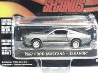 Greenlight Gone In 60 Seconds Gray 1967 Ford Mustang Elanor Hollywood 1/64 Diecast Car