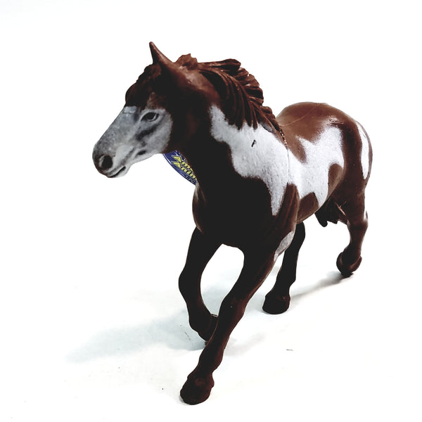 "PLANET EARTH Brown & White Mustang 5"" North American Animals Plastic Figure"