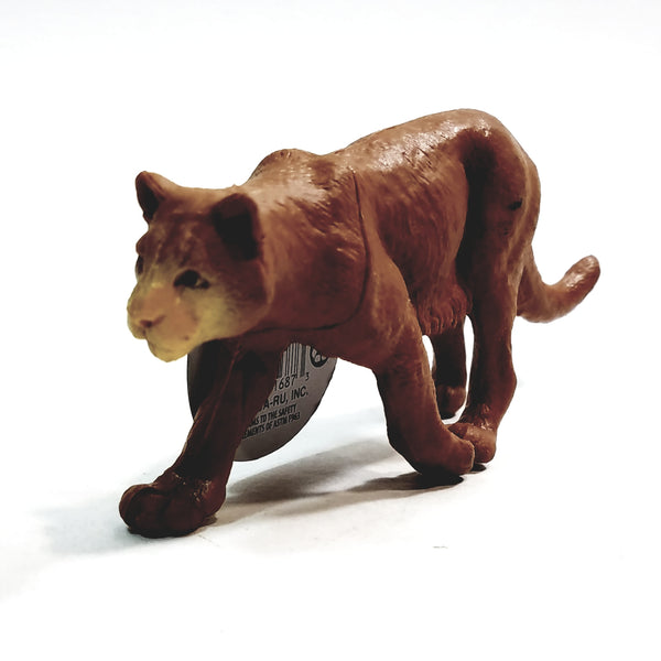 "PLANET EARTH Lioness 6"" North American Animals Plastic Figure"