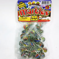 Game Sheet Bag Of 50 Glass Marbles 2 Player Game With Shooter & Game Sheet